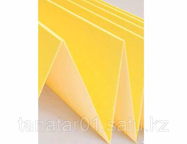Подложка пенополистирол желтая