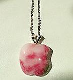 """Кулон на цепочке """"Розовое яблочко"""", фото 4"""