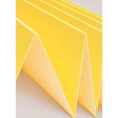 Подложка Листовая ПЛ Желтая 1050*500*2 ( 5,25м2 упак) под ламинат, фото 2