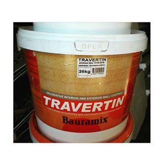 Жидкий Травертин Байрамикс 26кг (15м2)