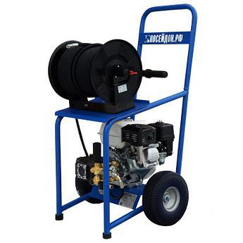 Аппарат высокого давления Посейдон B6-150-15 (ВНА-Б-150-15) с бензоприводом, 5,6 л.с., 150 бар, 15 л/мин