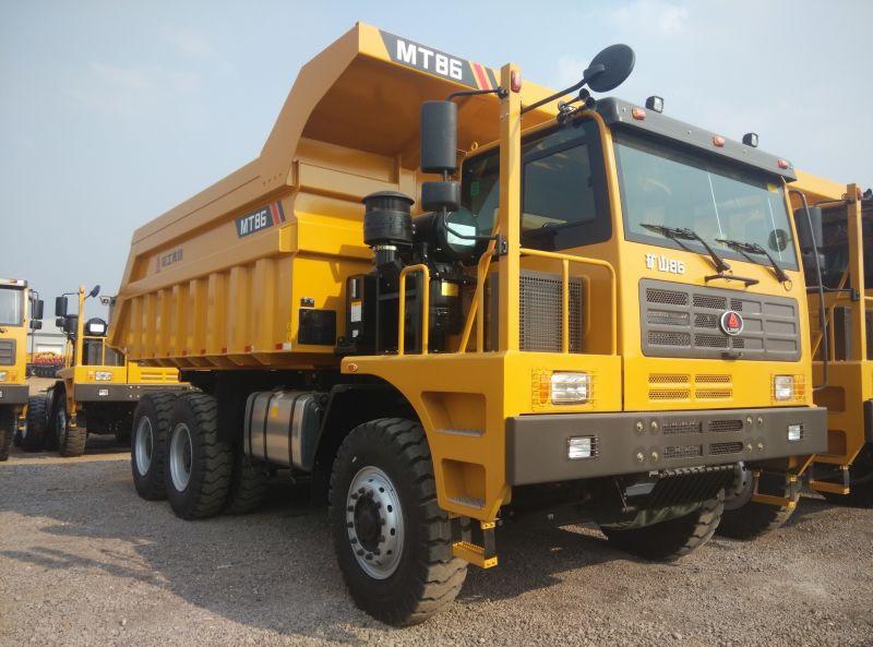 Самосвал LGMG MT-86 SDLG до 70 тонн