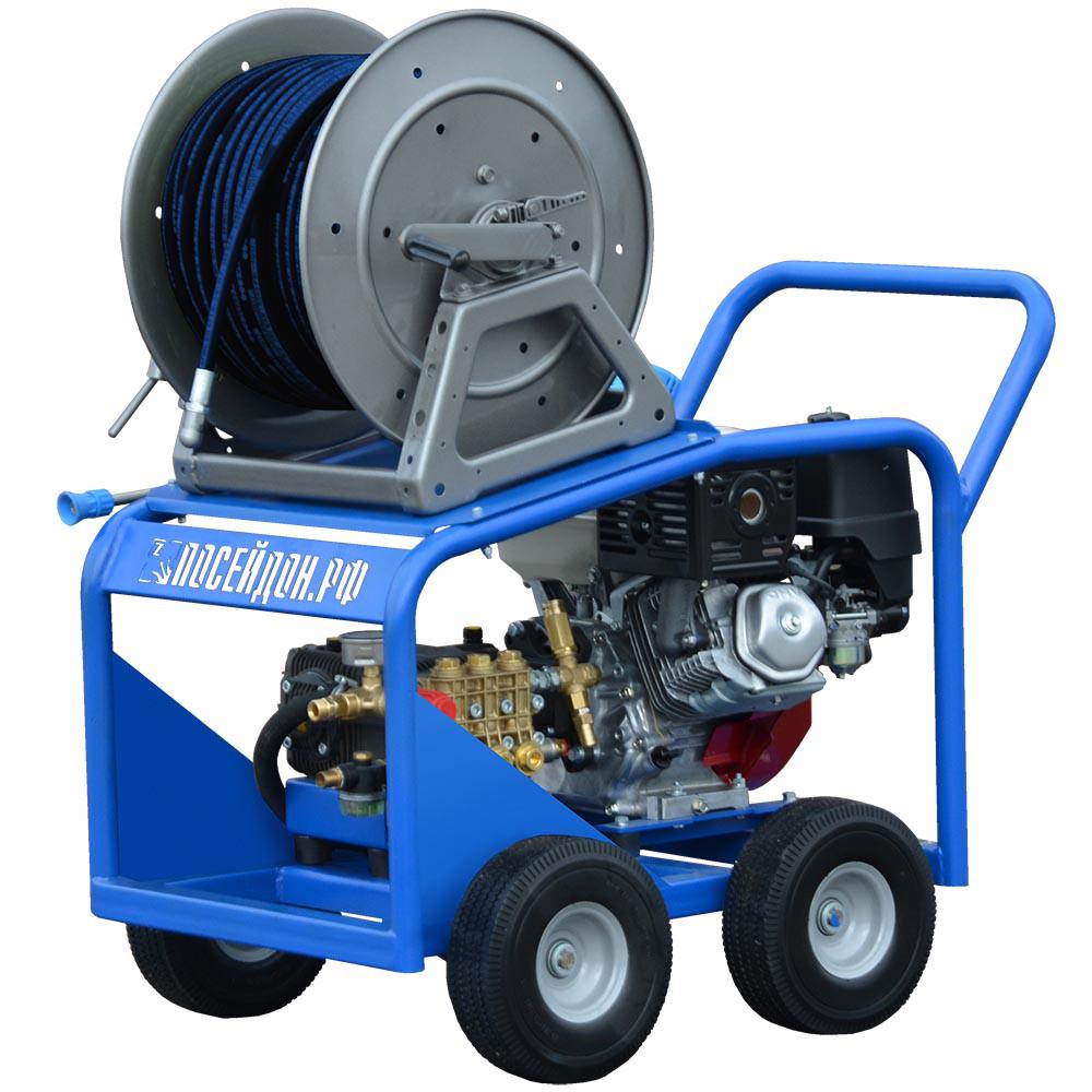 Серия аппаратов Посейдон D12, 12,5 л.с., 160-300 бар, 13-22 л/мин с дизельным двигателем