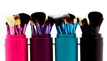 Кисти для макияжа и спонжи