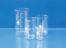 Мензурки лабораторные стеклянные