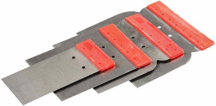 Шпатель Stayer набор Япончик 4шт (50,80,100,120 мм)(1012-H4), фото 2