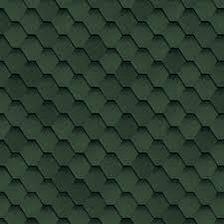 Гибкая черепица Серия Финская зеленая (3м2), фото 2
