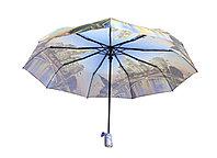 Полуавтоматический складной женский зонт M8043