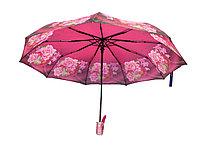 Полуавтоматический складной женский зонт LAN747red