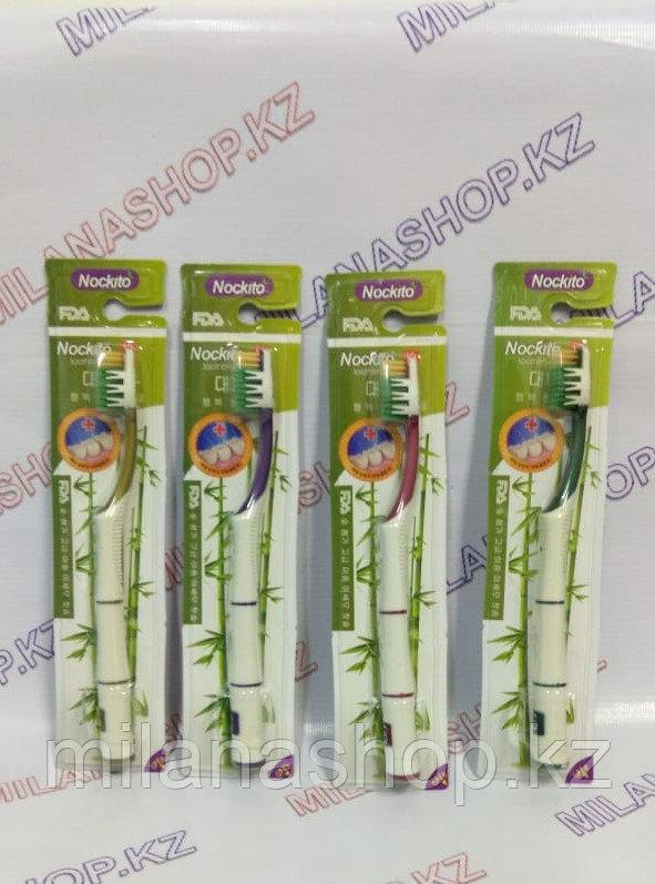 Бамбуковая зубная щетка