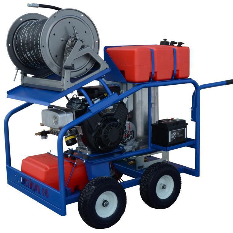 Водоструйный аппарат «Посейдон B15-210-22-Th» (ВНА-БГ-210-22)с подогревом воды