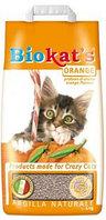 Biokat's Orange Комкующийся наполнитель для туалета с ароматом апельсина, 10 кг