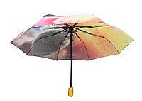 Полуавтоматический складной женский зонт  LAN811orange