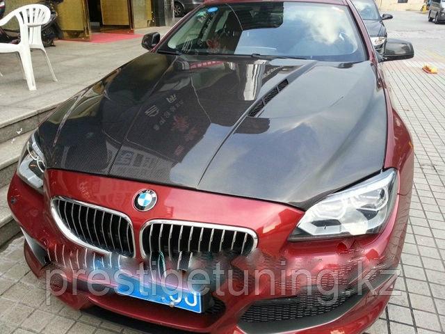 Карбоновый капот на BMW 6 F12