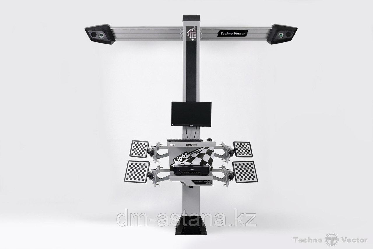 3D Стенд сход-развал для ЯМ, Техно Вектор 7, Серия:Optima