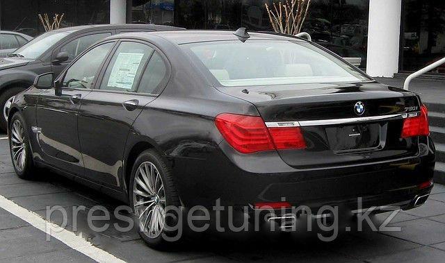 Задний диффузор + насадки 750i на BMW 7 F01/F02