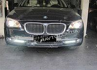Рамки в бампер с ходовыми огнями LED DRL на BMW F01 / 02, фото 1
