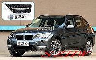 Рамки в бампер с ходовыми огнями LED DRL на BMW X1 (12+)