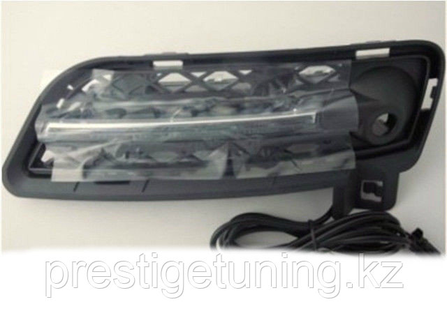 Рамки в бампер с ходовыми огнями LED DRL на BMW X3 F25