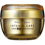 Антивозрастной крем для лица с золотом Tony Moly Gold 24K Snail Cream, фото 3
