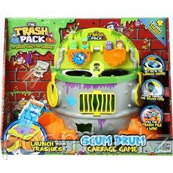 """""""Трэш Монстрики"""" - Игровой набор Scum Drum Garbage Game + 4 эксклюзивных героя"""