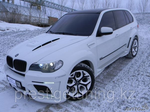Обвес Hamann EVO на BMW X5 E70