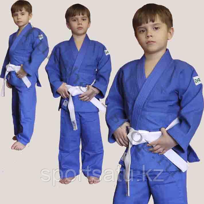 Детское кимоно для дзюдо синий