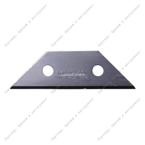 (09627) Лезвие KRAFTOOL трапециевидное, тип А 02, 62х18,7х0,5мм, 5шт.