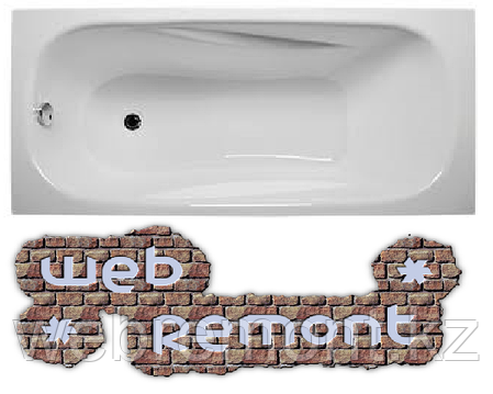 Акриловая ванна Классик 150*70 см. Ванна+ножки.1 Марка. Россия, фото 2