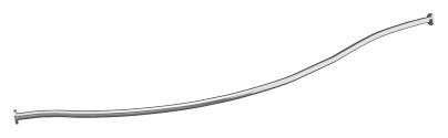 Карниз д/ ванны ГРАЦИЯ (1600х1000) Г-обр., фото 2