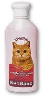 БиоВакс Шампунь для короткошерстных кошек, 355 мл, фото 1