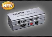 Сплиттер HDMI SFX911-2-V2.0, 1 вход - 2 выхода