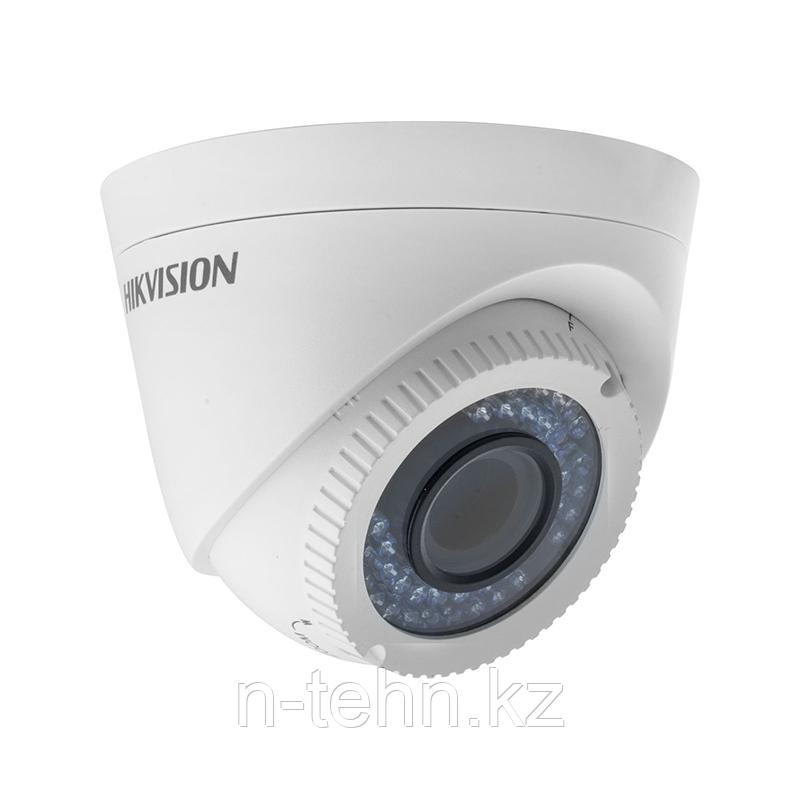 Hikvision DS-2CE56C2T-VFIR3 (2.8-12 мм) HD TVI 720P ИК купольная видеокамера