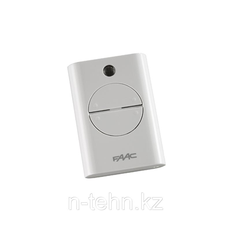 787452 Брелок-передатчик 433 МГц 4-канальный фиксированный-код белого цвета
