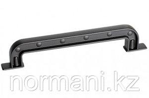 Ручка-скоба 160мм, отделка черный матовый