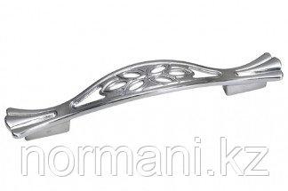 Мебельная ручка для кухни 128-096 хром глянец