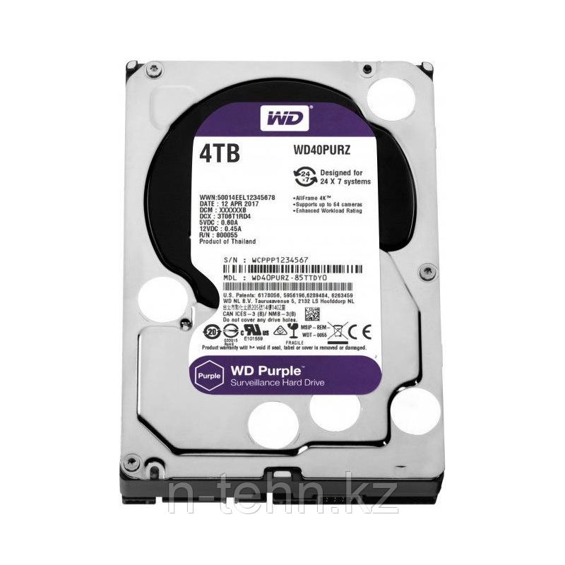 "WD40PURX Жесткий диск 4000ГБ Western Digital ""Caviar Purple"""