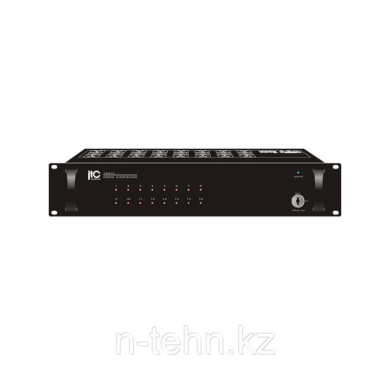 ITC T-6216 Cиловой коммутатор, 16 каналов, 220V, 5,6 кг, 2U