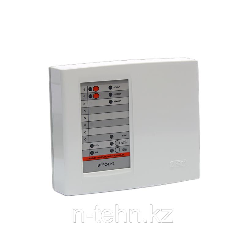 ВЭРС-ПК 2П Прибор приемно-контрольный охранно-пожарный