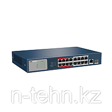 Hikvision DS-3E0318P-E PoE свитч 16-портовый