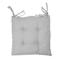 Подушка для стула 40*40 см «GRETA» светло-синяя.
