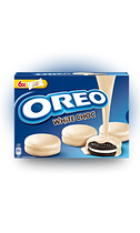 Печенье Oreo Choc White  Banadas 246гр (10шт-упак)