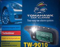 Tomahawk TW-9010 - автосигнализация с обратной связью и автозапуском., фото 1