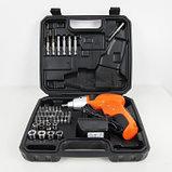Шуруповерт аккумуляторный 45 предметов многофункциональный, фото 2