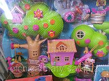 Куклы Лалалупси (Lalaloopsy Mini) Мини Игровой набор Домик на дереве Treehouse Playhouse