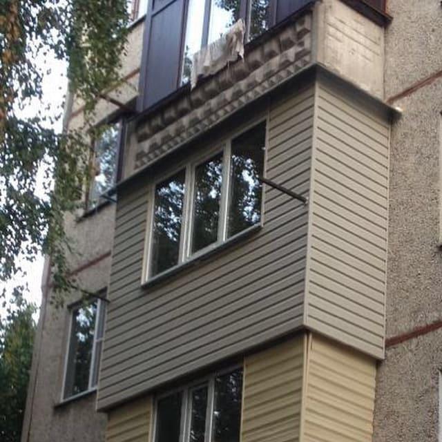 Отделка, ремонт и утепление балконов -1