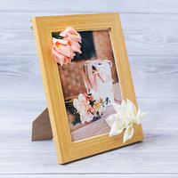 Фоторамка 'Нежность' 15 x 20 см, с цветочным декором