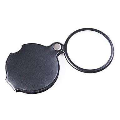 Лупа карманная 5X увеличение, диаметр 40 мм