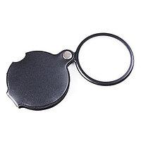 Лупа карманная 5X увеличение, диаметр 40 мм, фото 1