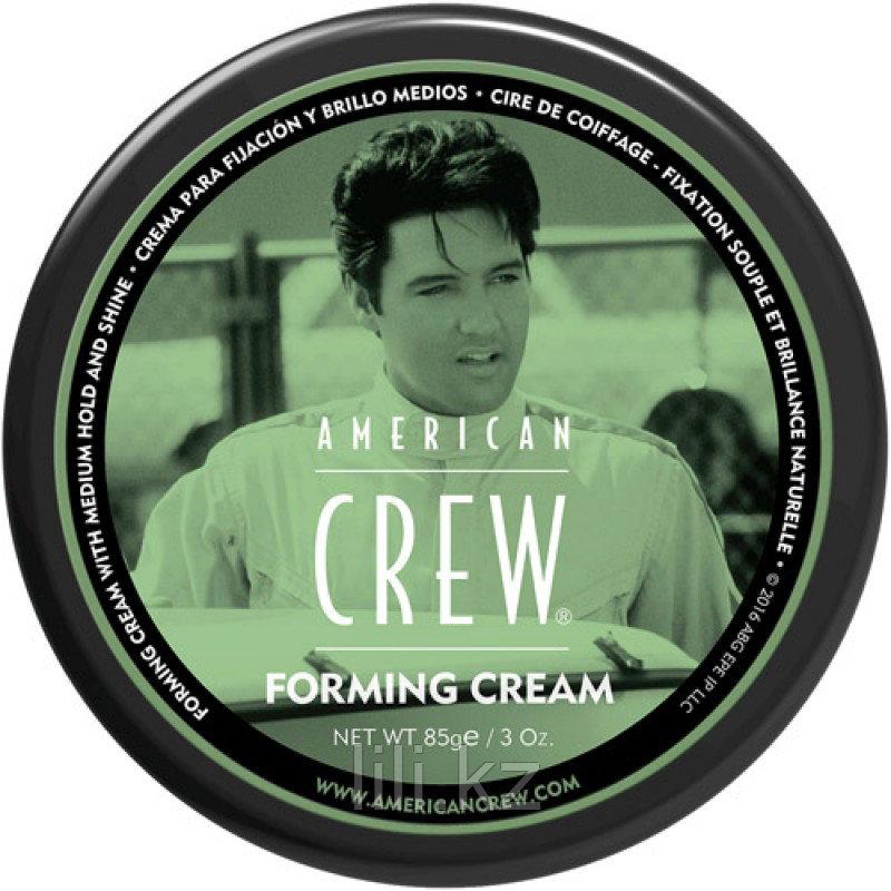 Крем для укладки со средней фиксацией и средним уровнем блеска - American Crew King Forming Cream 85 г.